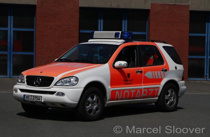 Feuerwehr Munster Mercedes NEF