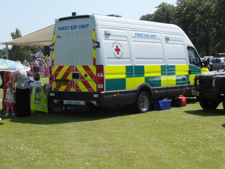 British Red Cross First Aid Unit
