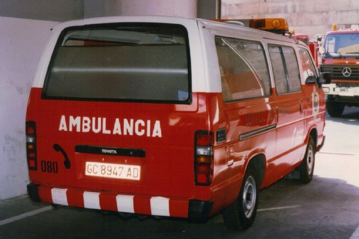 Gran Canaria FB Ambulance rear