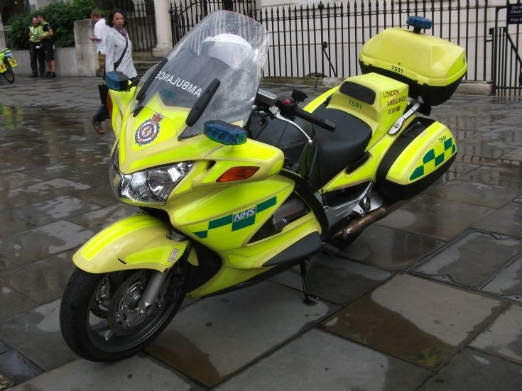 LAS Motorbike LJ58OFG
