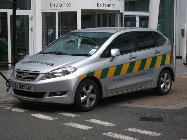 Honda Patient Transport car Service LB09GOC