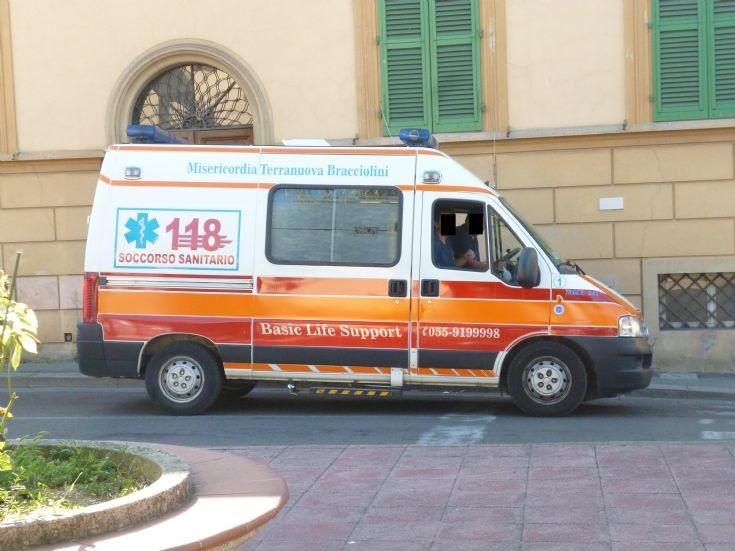 Ambulance San Giovanni Valdarno (AR), Italy