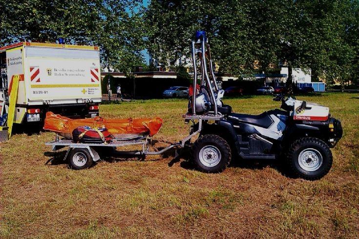 ATV,polaris,Mountain rescue tesm OG