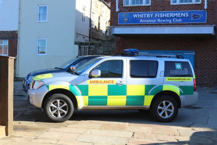Medics UK Nissan Pathfinder