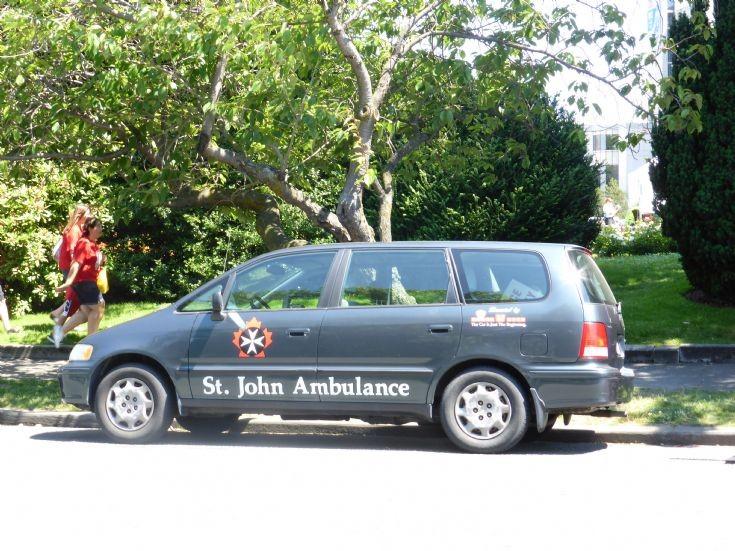St. John Ambulance Honda