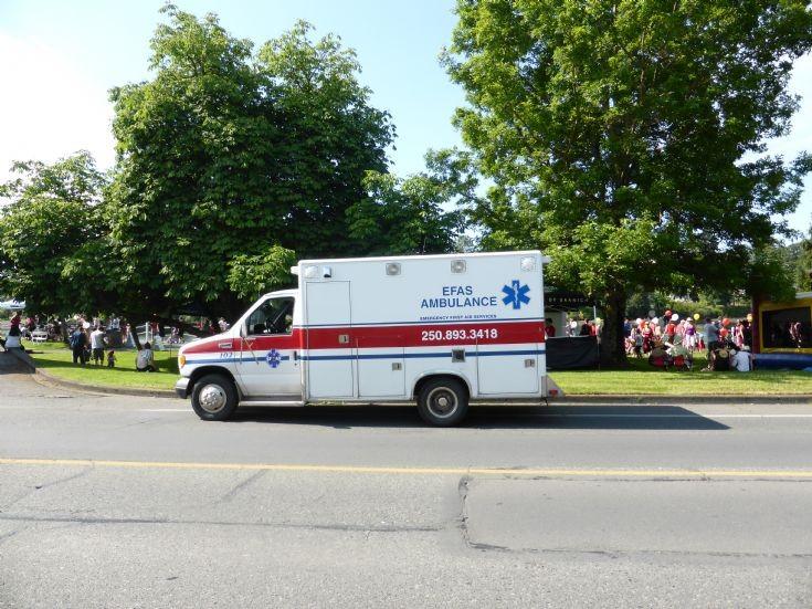 Emergency First Aid Service Ambulance