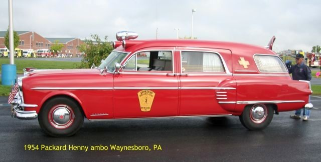 54 Packard ambo side view