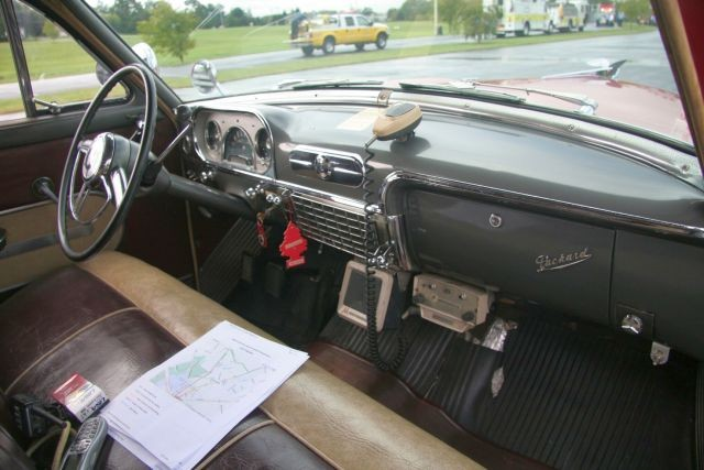 54 Packard driver's seat