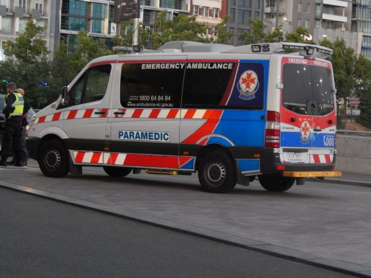 Victoria Mercedes Sprinter Ambulance Unit 193.