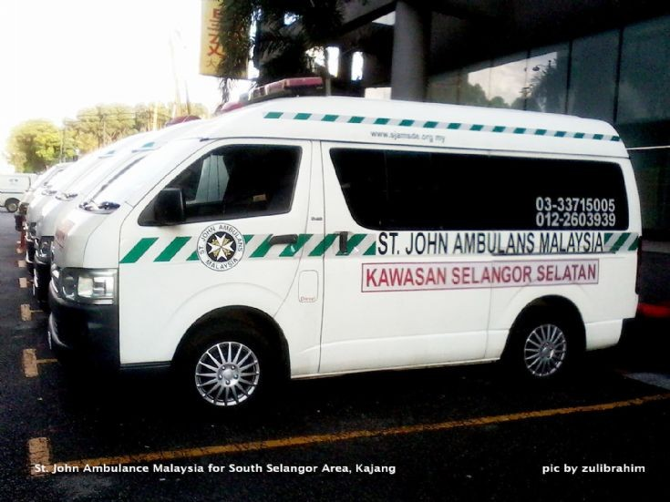 Toyota St. John Ambulances