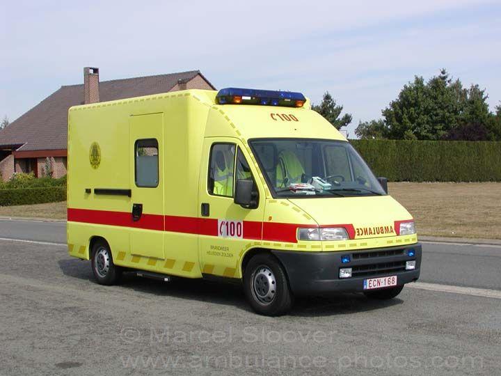 Brandweer Heusden-Zolder Peugeot Ambulance