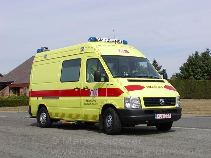 Brandweer Heusden-Zolder Mercedes Sprinter