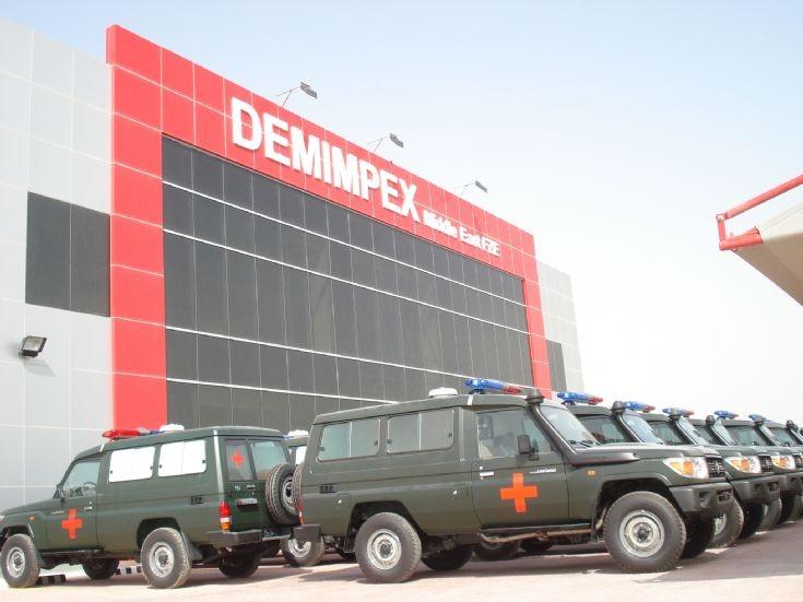 Toyota HZJ78 4x4 Ambulance