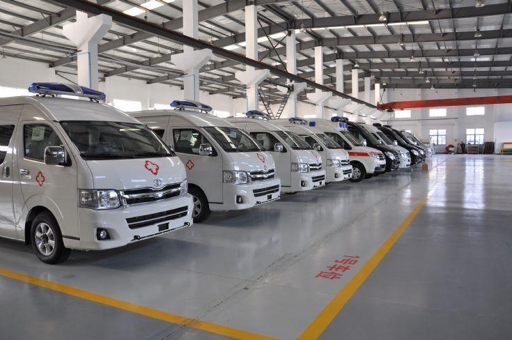 Economy Model Ambulance1 HIACE CHINA