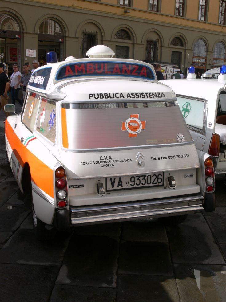 Ambulance Florence (Italy)