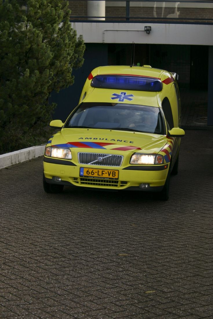 Volvo S80 Ambulance.