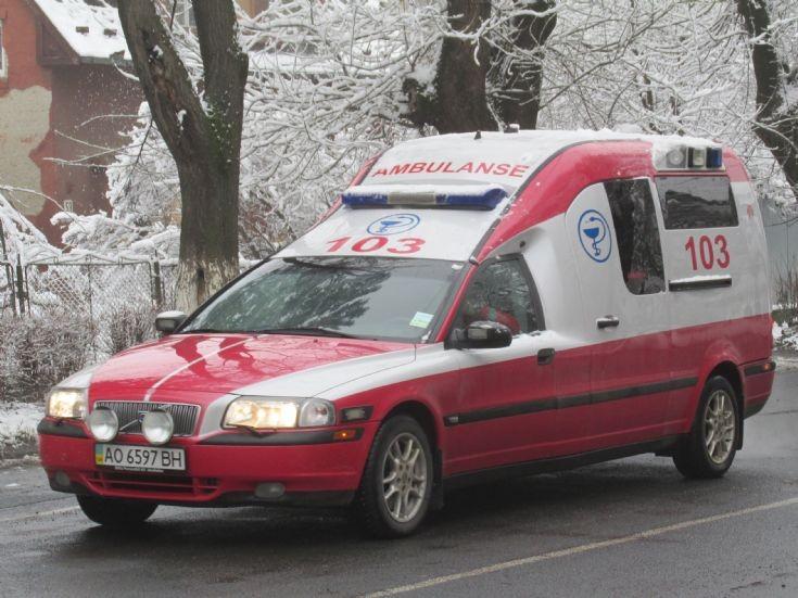 Volvo S80 Ambulance Ukraine