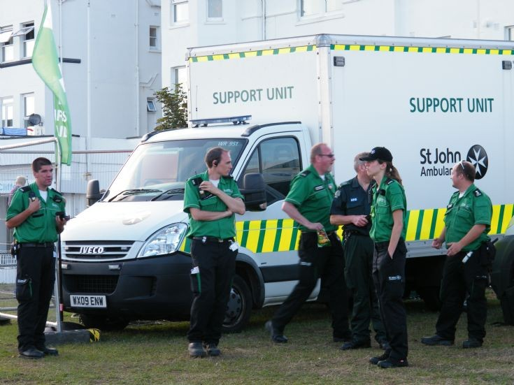 St John Iveco Support unit