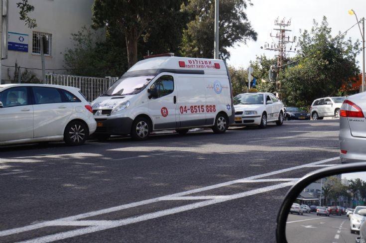 Renault Traffic, Haifa, Israel