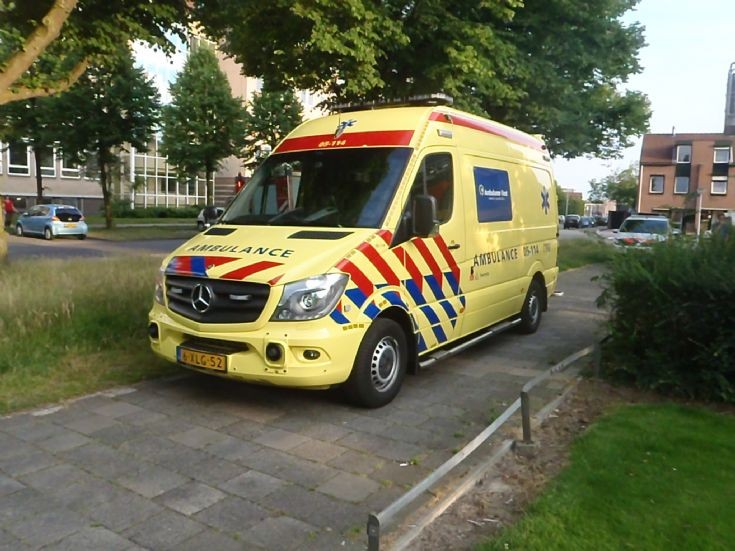2014 Mercedes Sprinter Dutch Ambulance