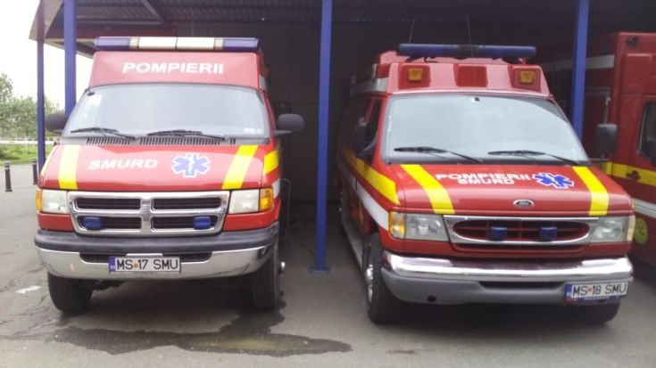 dodge & ford , ambulances