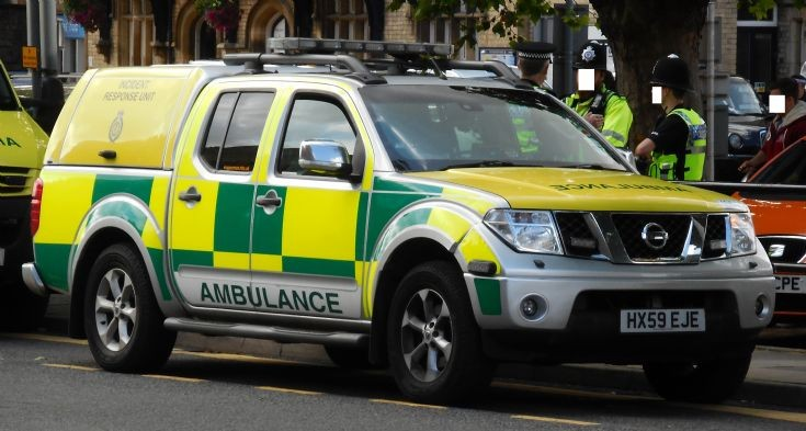 East Midlands Ambulance Service (HX59 EJE)
