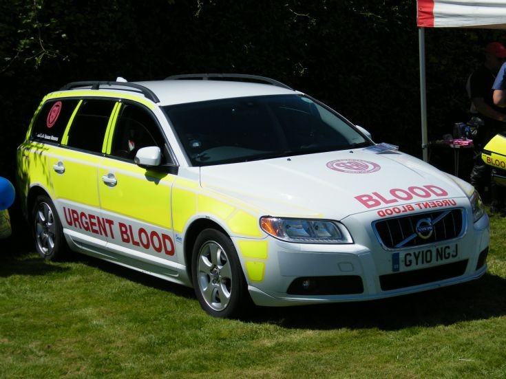 Volvo Blood unit