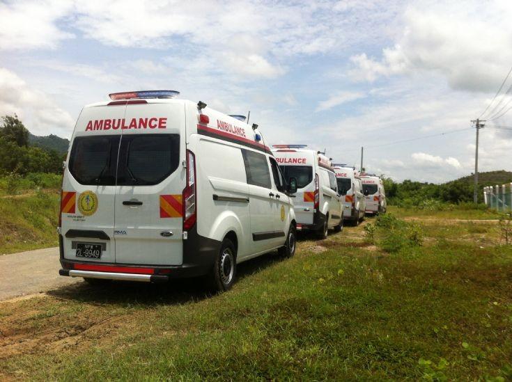 Myanmar Ford Transit Custom Ambulances