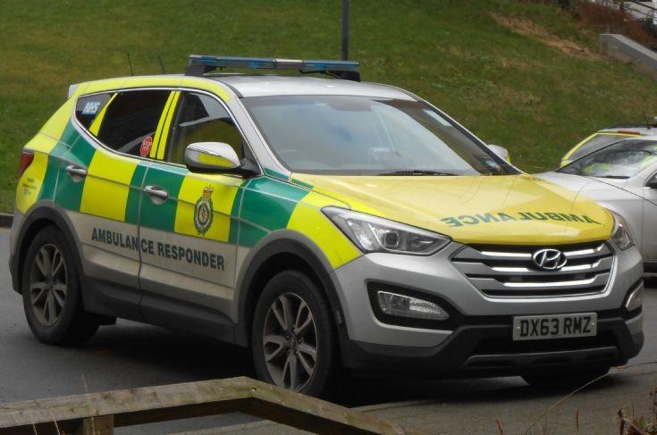 Yorkshire Ambulance Service (DX63 RMZ)