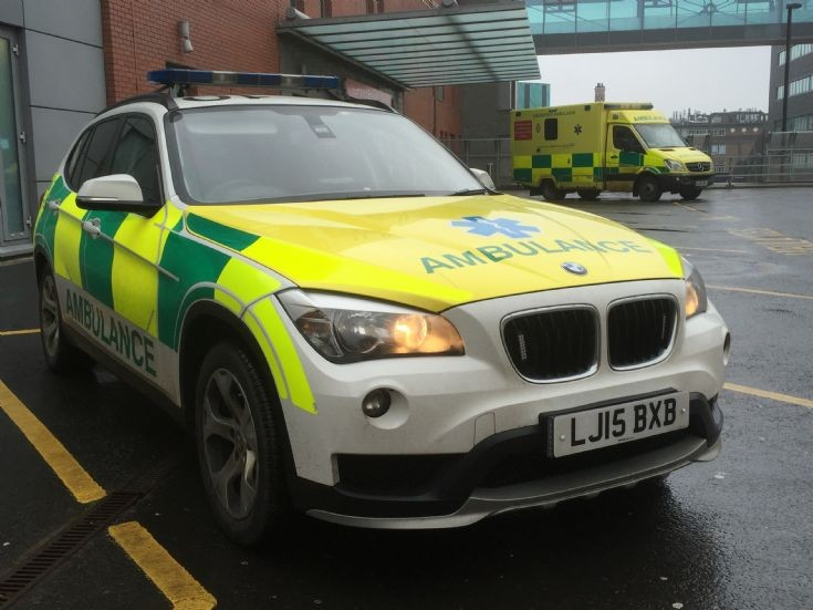 NORTH EAST AMBULANCE SERVICE LJ15BXB