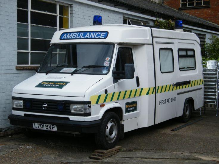 Talbot Express Ambulance