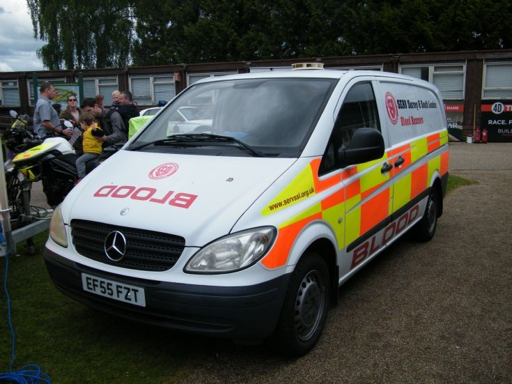 Blood Transportation Van (SERV Surrey)