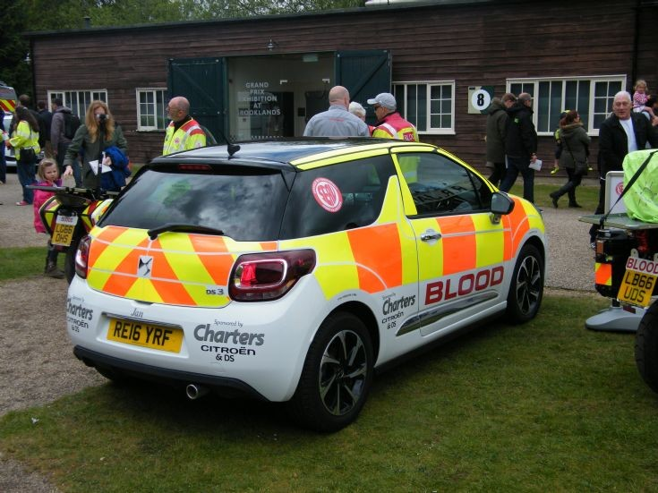 Surrey Blood Transport (SERV) Citroen DS3