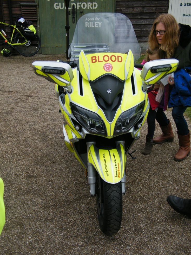 Yamaha Surrey Blood Transport (SERV)