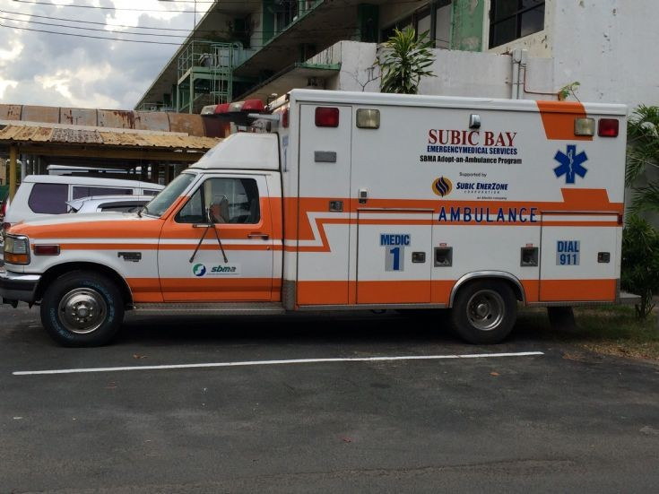 Subic Bay Medic 1 Ambulance Side View - Ford F250