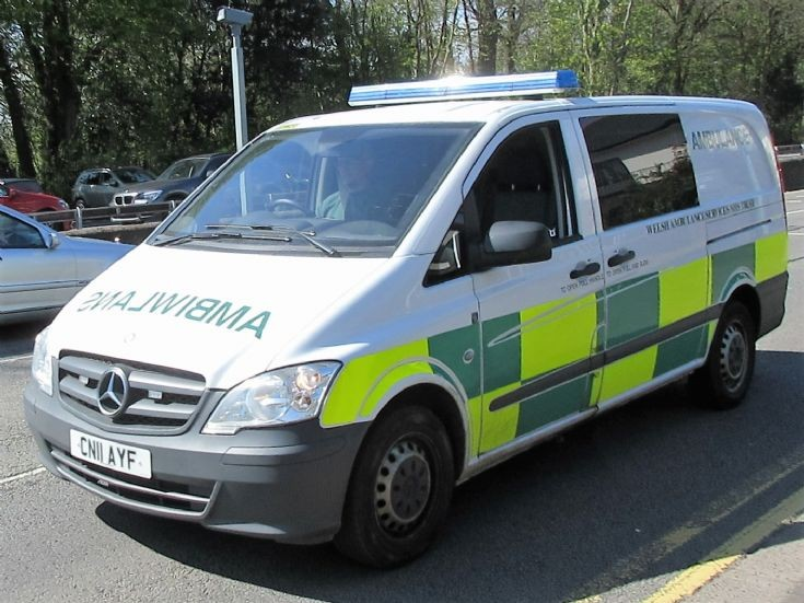 Welsh Ambulance Service (CN11 AYF)