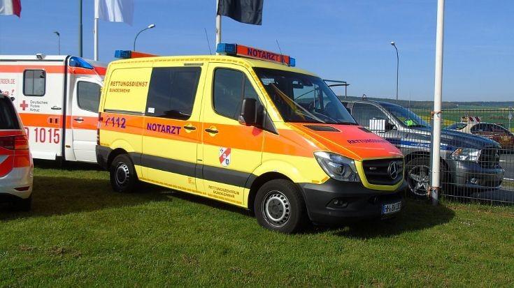 Hamburg military hospital