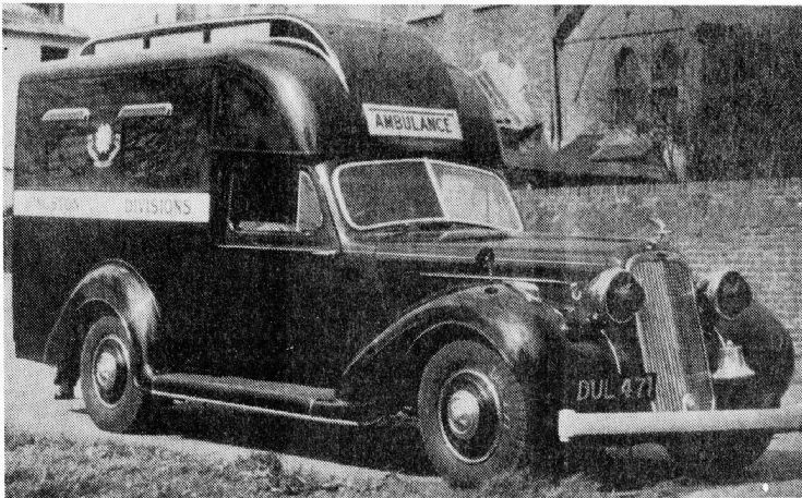 Humber Hawk WW2 Ambulance