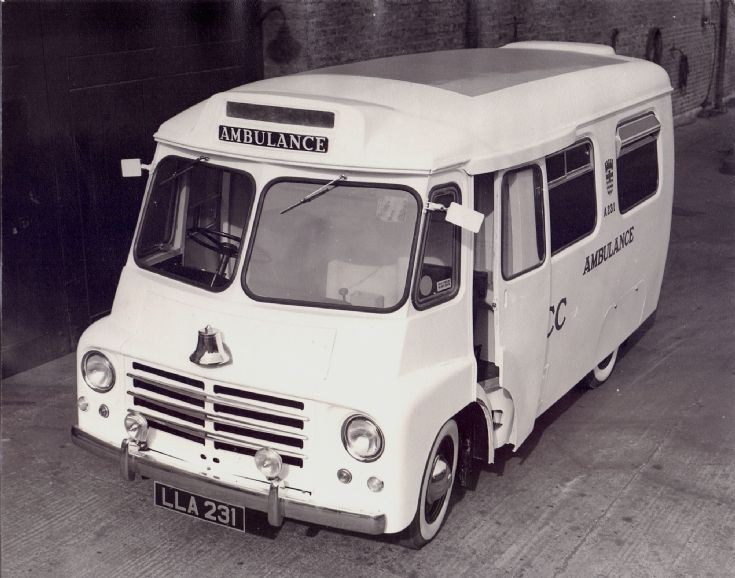 London County Council prototype Ambulance