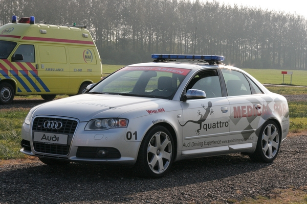 Audi S4 Medical Car Circuit Assen.