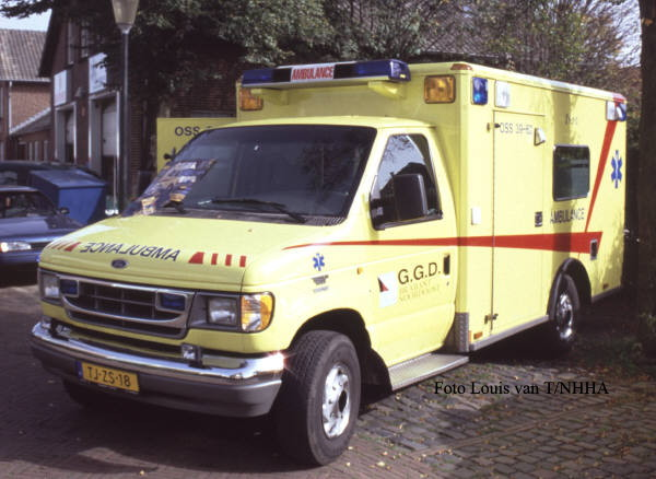 Ford E350 Wheeled Coach Ambulance Oss