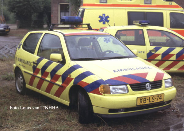 ambulanceservice West-Betuwe VW Polo