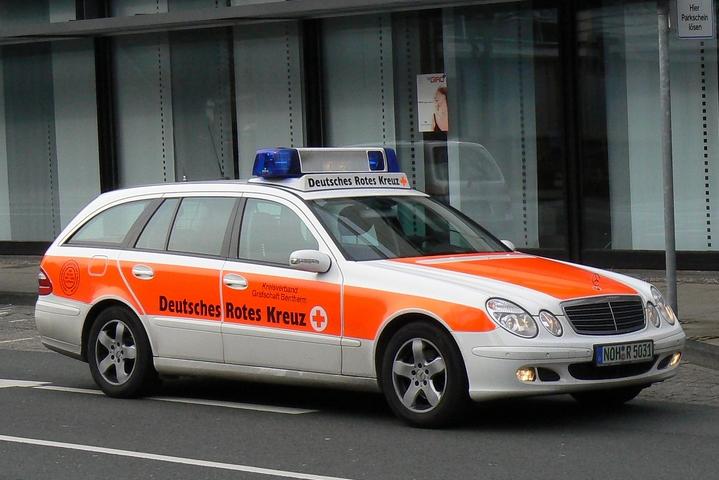 Mercedes E-class combi Emercency doctor Nordhorn