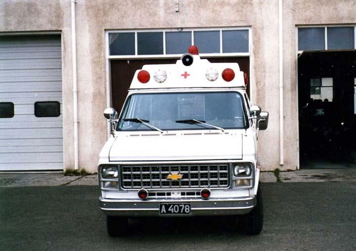 Chevrolet Chevy Van G-30,Akureyri FB,front