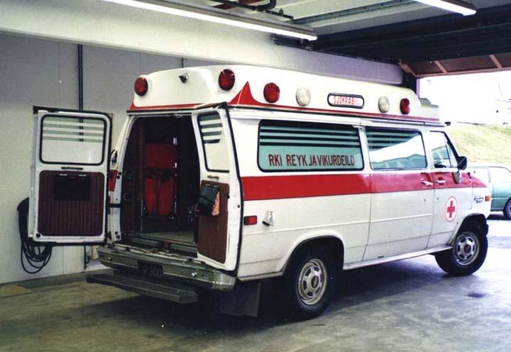 Chevrolet Chevy VanG-30/Wheeled Coach,Reykiavik FB
