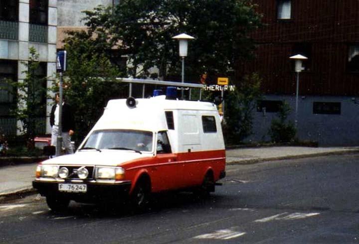 Volvo Ambulance  ,Thorshavn,Faroer Island,Danmark