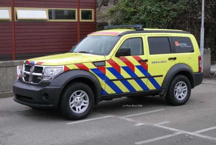 Dodge First responder Amstra demonstration vehicle