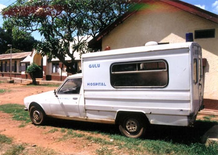Gulu Hospital Uganda Peugeot 505 Ambulance