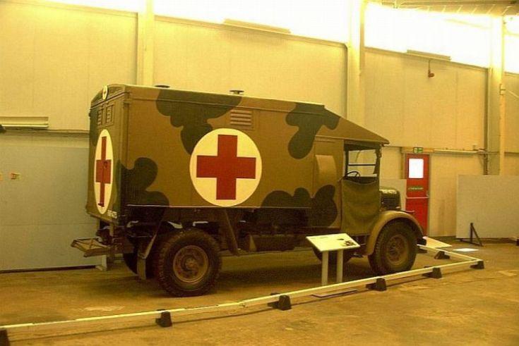 Austin K2/Mann-Egerton field ambulance