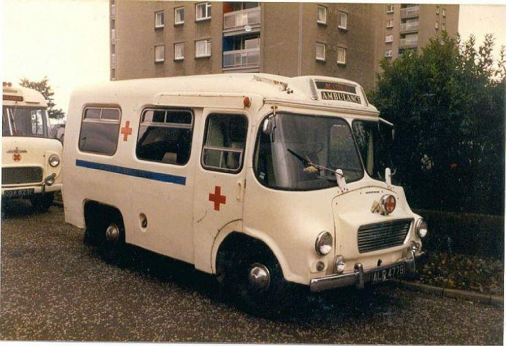 1964 Morris LD ambulance